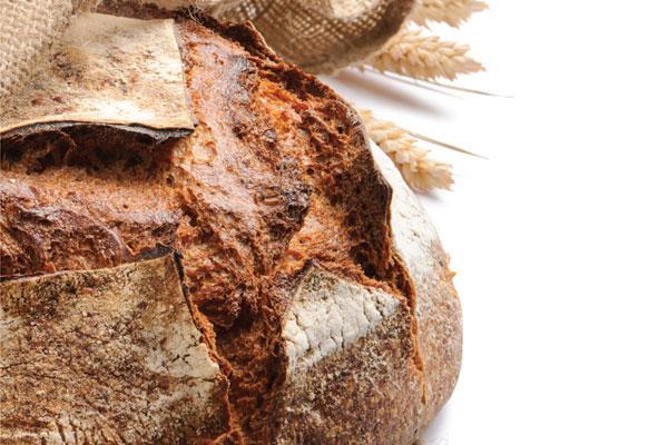 Pão rústico com Rustic'Art