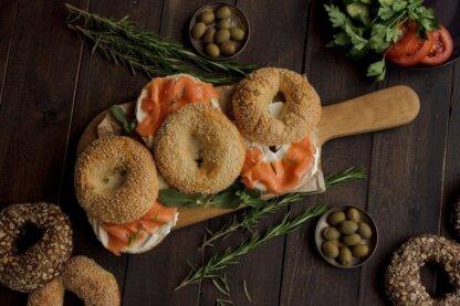 ingredientes de panaderia saludables